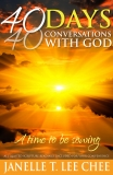 40 DAYS, 40 CONVERSATIONS WITH GOD