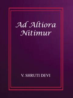 Ad Altiora Nitimur
