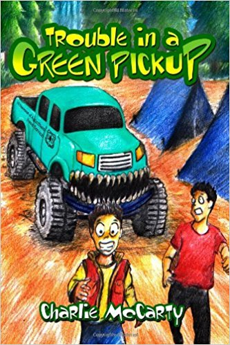 TROUBLE IN A GREEN PICKUP