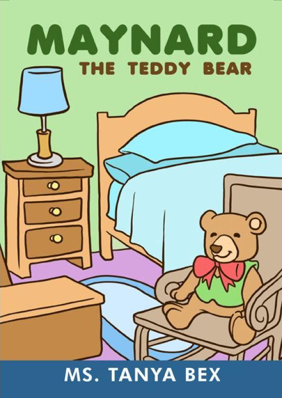 MAYNARD THE TEDDY BEAR