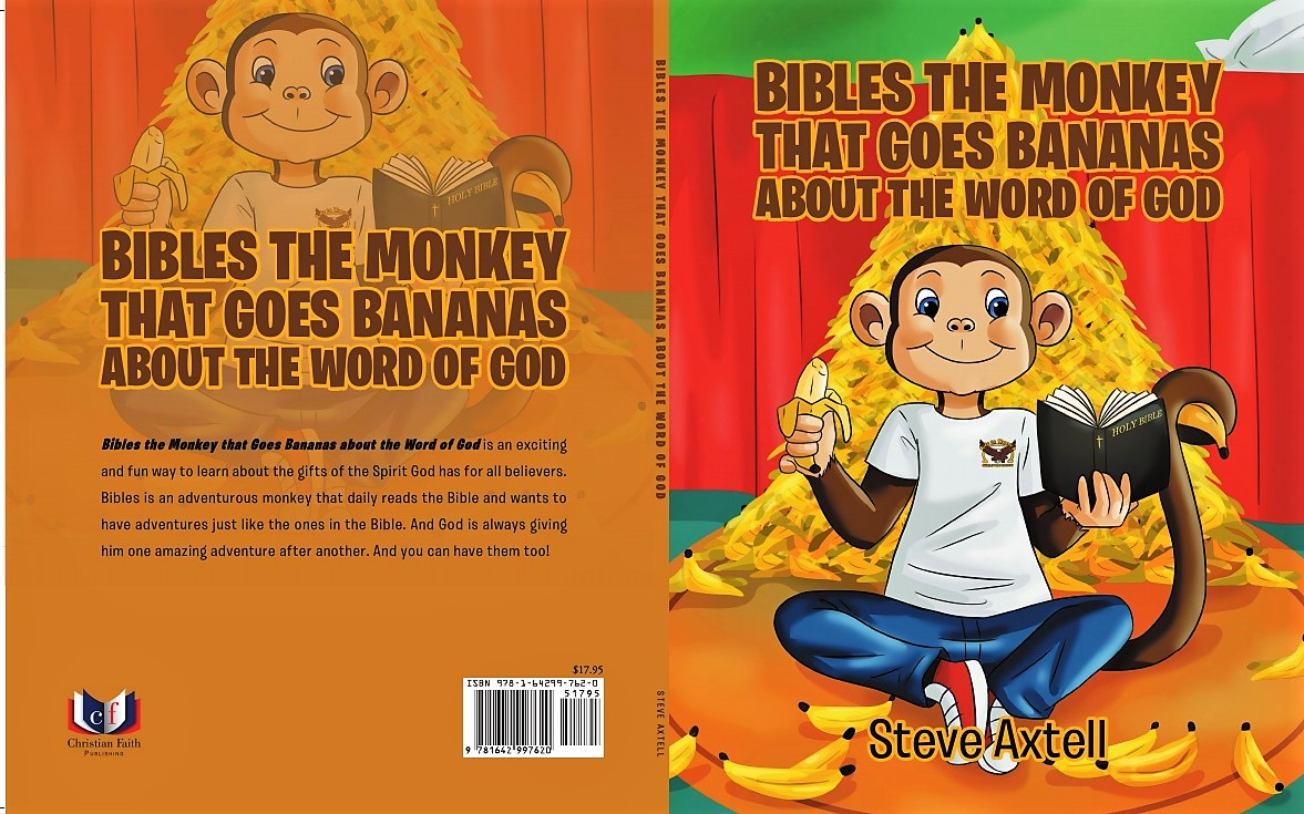 Bibles the Monkey that goes Bananas about the Word of God
