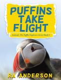 PUFFINS TAKE FLIGHT