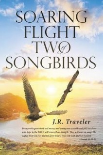 Soaring Flight Of Two Songbirds