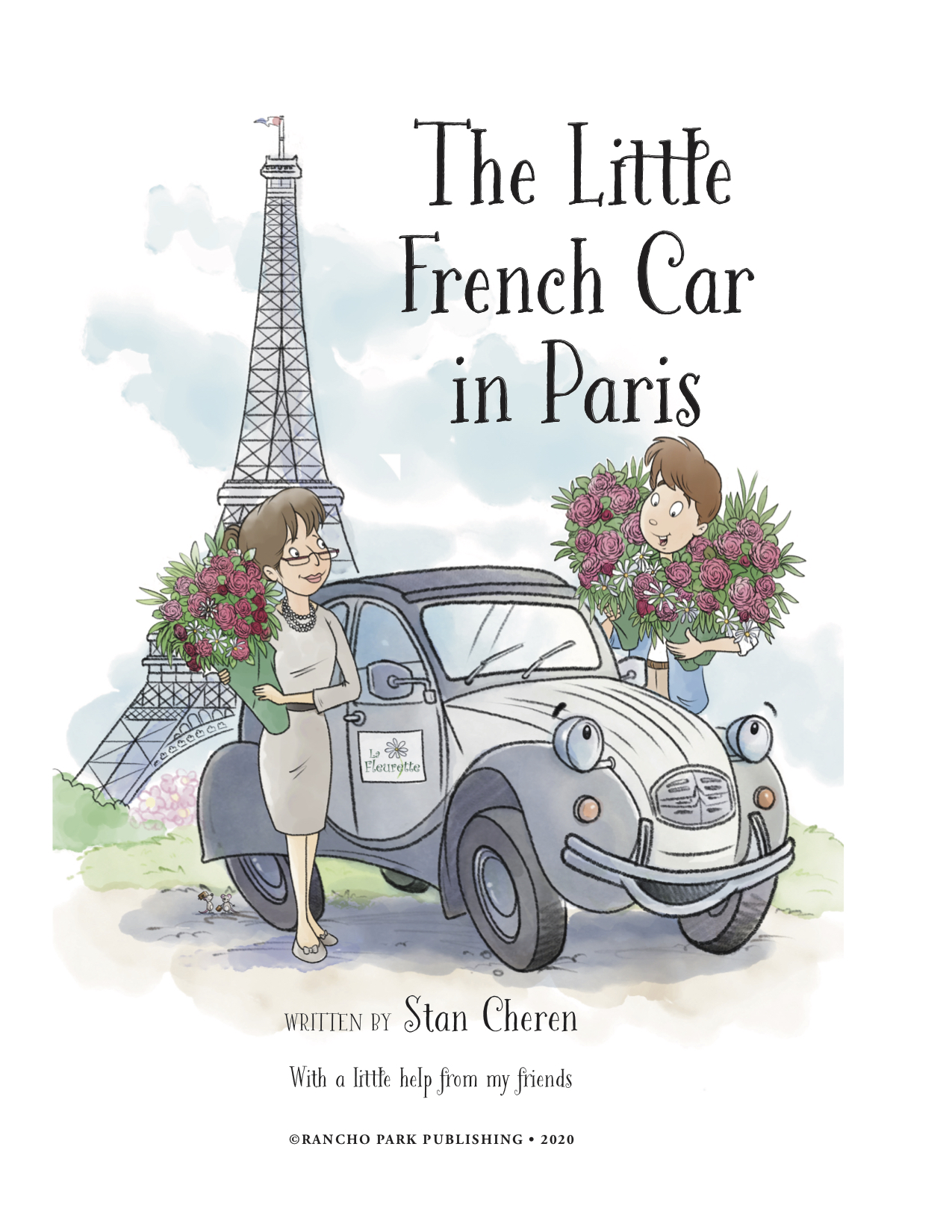 THE LITTLE FRENCH CAR IN PARIS