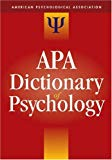 APA DICTIONARY OF PSYCHOLOGY