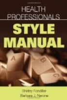 Health Professionals Style Manual