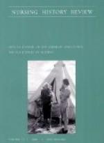 Nursing History Review, Volume 13, 2005