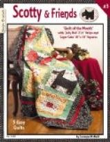 Scotty & Friends-Quilt Of The Month
