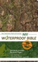 NIV WATERPROOF BIBLE - CAMOUFLAGE
