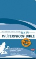 NKJV WATERPROOF BIBLE - BLUE WAVE