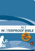 NLT WATERPROOF BIBLE - BLUE WAVE