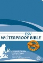 ESV WATERPROOF BIBLE - BLUE WAVE