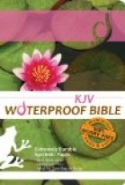 KJV WATERPROOF BIBLE - LILY PAD