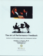 The Art of Performance Feedback