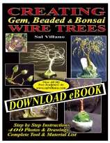 CREATING Gem, Beaded, & Bonsai WIRE TREES
