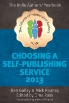 Choosing A Self Publishing Service 2013