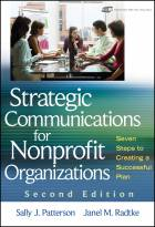 Strategic Communications for Nonprofit Organizations