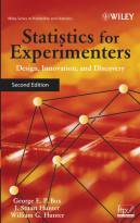 Statistics for Experimenters: Design, Innovation,and Discovery, Second Edition