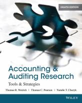 Accounting & Auditing Research: Tools & Strategies 8E
