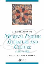 Companion to Medieval English Literature andCulture c.1350 - c.1500