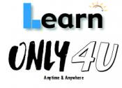 Learn only 4 u